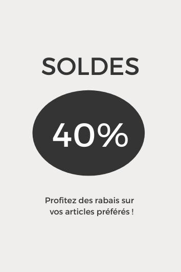 Soldes 40%